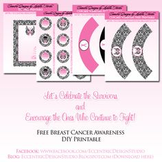 Eccentric Designs by: Latisha Horton: Free Downloadable DIY Printable - Breast Cancer Awareness