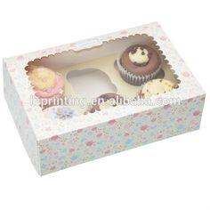 Custom take-away food box / take away folding cake box / takeaway food box window packaging wholesale