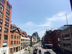 Instagram의 김미현님: #하이라인 에서 본 #뉴욕 # 역시 멋있어 근데 정작 하이라인에 심어진 풀과 꽃은 찍지않았다....ㅇㅅㅇ 멍청이