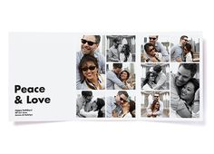 Platinum Trifold Photo Card | PinholePress.com #holidaycard