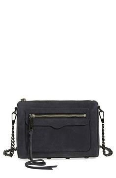 Looking to add some flirty movement to the day or night look? This lush suede Rebecca Minkoff crossbody bag with long, trailing laces is just the ticket! Gotta check it out at the Anniversary Sale.