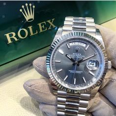 White gold Rolex Day-Date 40 President by Juampi*