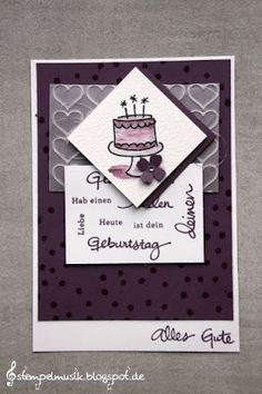 stempelmusik stampin up match the sketch geburtstagspuzzle endless birthday wishes
