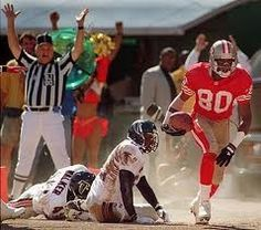 Touchdown!! Jerry Rice!!!