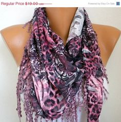 A scarf changes everything - #scarves -