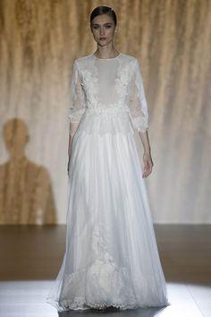 Transparencias en el vestido de novia de Patricia Avendaño – Platinum 2016