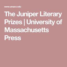 The Juniper Literary Prizes | University of Massachusetts Press