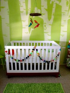 Sleep under the trees. #nursery #green
