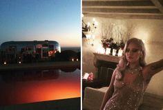 Lady Gaga dá festa com piscina cor de sangue para o elenco de #AmericanHorrorStory >> http://glo.bo/1PzAMB2