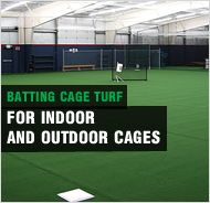 Rubber Flooring, Synthetic Turf, Artificial Turf, Batting Cages, Windscreen, Weight Room Flooring, Batting Cage Nets