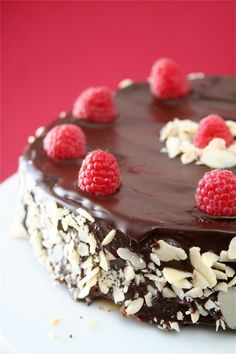 When i have hours to kill in the kitchen Chocolate torte