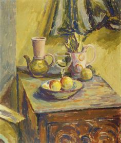 Still Life Group, Duncan Grant (1885–1978), Government Art Collection