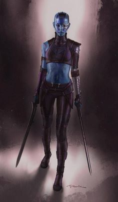 Guardians of the Galaxy - Nebula by Andy Park *