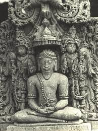 A Rishi (sage) of Halebidu -- Hoysala sculpture