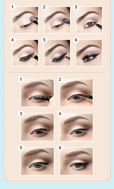 Eye Makeup Tips.Smokey Eye Makeup Tips - For a Catchy and Impressive Look Makeup To Buy, Eye Makeup Tips, Lip Makeup, Makeup Ideas, Make Up Guide, Morning Makeup, Winged Eyeliner, Apply Eyeliner, Makeup Designs