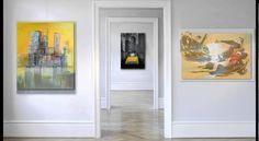 Acrylbilder Wandbilder abstrakt Galerie Slavova Art