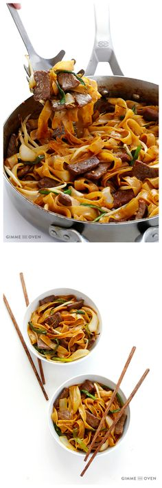Beef Chow Fun (Beef & Noodles Stir Fry)