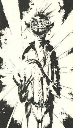 """""""Rictus"""" from 'The Thief Of Always' by Clive Barker"""