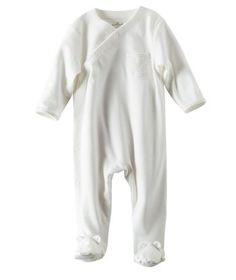 Burt S Bees Baby Newborn Nightgown Cloud 0 9 M Newborn Unisex