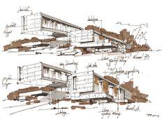 HOTEL IN GDANSK by Pawel Podwojewski, via Behance
