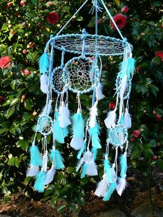 Dream Catcher Mobile by Winchestergems on Etsy, $82.00
