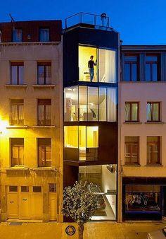 Vertical Apartment from CSD Archtecten
