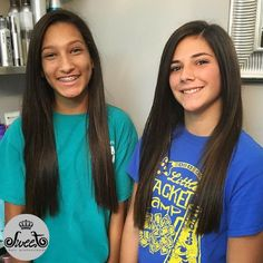 Even teenagers are loving the FIRST shampoo! Just look how fabulous their hair looks after the treatment.