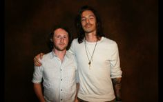 Brandon Boyd and Mike Einziger