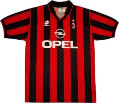 AC Milan (Italy) - 1995/1996 Lotto Home Shirt