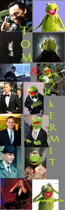 Tom Hiddleston & Kermit the Frog    #1
