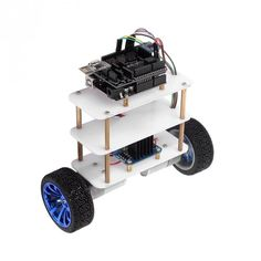 New arrival is here----Arduino Compatible Robot Kit Self-Balancing Upright Rover Instabot Robot Kits, Diy Robot, Robot Platform, Balancing Robot, Pid Controller, Arduino Projects, Pi Projects, Cool Robots, Smart Car