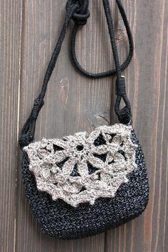 madewith LOVE: Mini Crochet Sling Bag