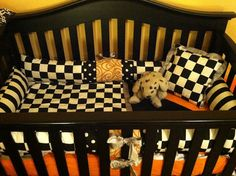 Custom Made Nascar Racing Race Car Crib Set by PeaceHopeLuv, $168.00.  Another checkered flag sheet set possiblity