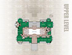 David Seigel's 90,000 sf. Versailles - upper level