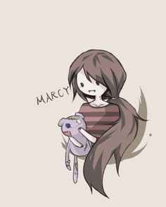 Image de marceline, adventure time, and marcy