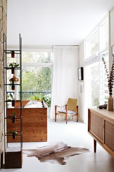 A makeover for a modernist Sydney beach house. Styling by Claire Delmar. Photography by Prue Ruscoe.