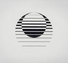 Creative Retro, Corporate, Logo, Design, and Sizes image ideas & inspiration on Designspiration Gfx Design, Logo Design, Design Art, Geometric Logo, Geometric Designs, Geometric Shapes, Op Art, Painting & Drawing, Designers Gráficos