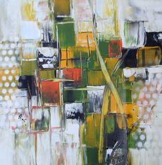 Ein einfaches Bild, gemalt mit 5 Farben und Colour-Shaper, fuer Anfänger geeignet... A simple painting, painted with 5 colours and Colour- Shaper schablone:e...