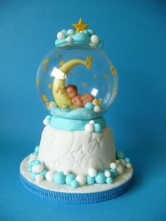 Snow Globe Cake-----How cute is this !!!
