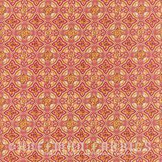 Hoffman - Sonja Mosaic Poppy M7444-224G