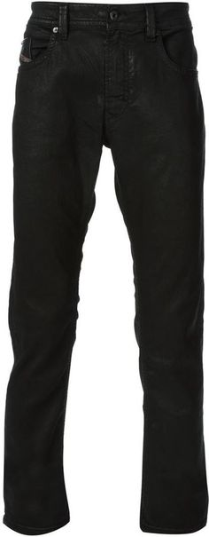 $257, Black Skinny Jeans: Thavar Skinny Jeans by Diesel. Sold by farfetch.com. Click for more info: http://lookastic.com/men/shop_items/140064/redirect