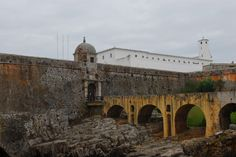 Peniche, Portugal, Eingang ins Fort