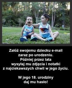 Najlepszy prezent na 18 urodziny jaki można dostać od rodziców Everything And Nothing, Life Motivation, Wtf Funny, Inspirational Gifts, Social Platform, Better Life, Kids And Parenting, Good To Know, Life Lessons