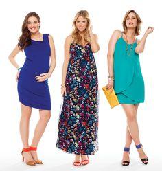 Thyme Maternity Summer Dresses // Robes d'été Thyme Maternité