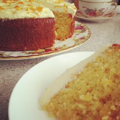 A Moment on the Lips:  Orange Cake....Cook for 20 mins as cupcakes