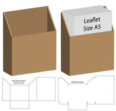 Discover thousands of Premium vectors available in AI and EPS formats Diy Gift Box, Diy Box, Gift Boxes, Silhouette Cameo Boxes, Cardboard Crafts, Foam Crafts, Paper Box Template, Origami Templates, Diy Organisation