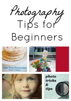 Great photography tips for beginners!