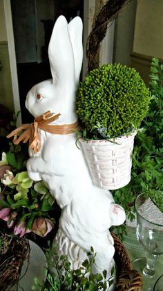 Upstairs Downstairs: Not the Easter Bunny