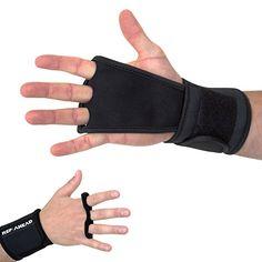 REP AHEAD WODSTERS – Handschuhe mit integrierter Handgelenkbandage für Athleten im Bereich Crossfit, Freeletics, Calisthenics, Turnen und Gewichtheben (Handschuhe/Grips, schwarz): Amazon.de: Sport & Freizeit