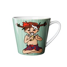 Pippi Langstrømpe kopper fra Rörstrand :)